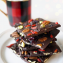 Dark Chocolate Christmas Bark Recipe