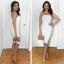 Office Holiday Party Dress: Winter Whites