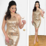 New Year's Eve Sequin Party Dress