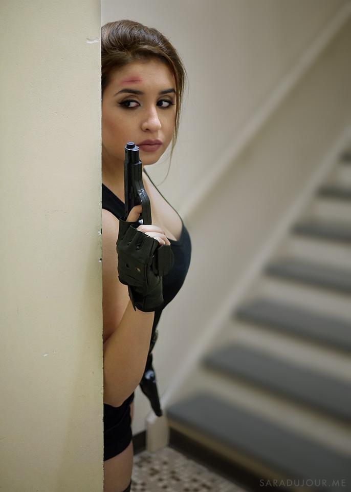 Lara Croft Cosplay Costume | Sara du Jour