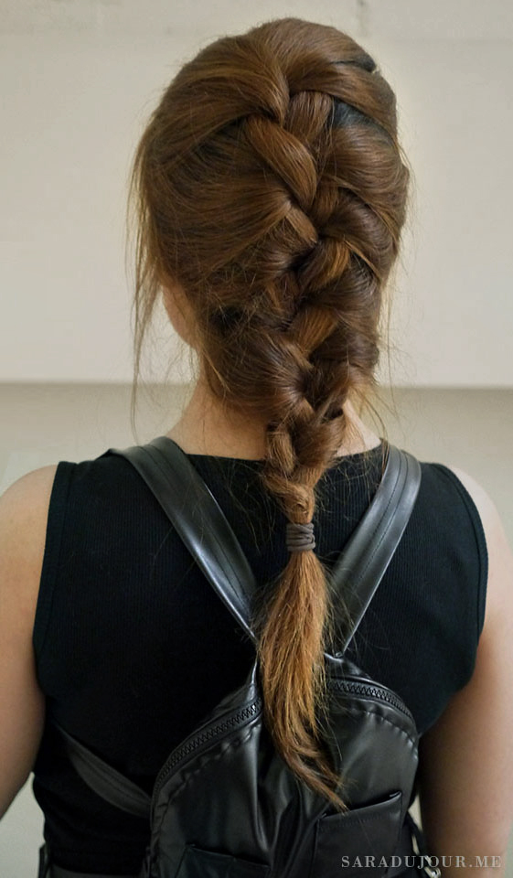 Lara Croft Cosplay Hair | Sara du Jour