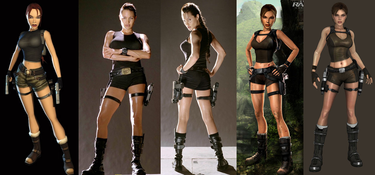 Lara Croft Tomb Raider Outfits