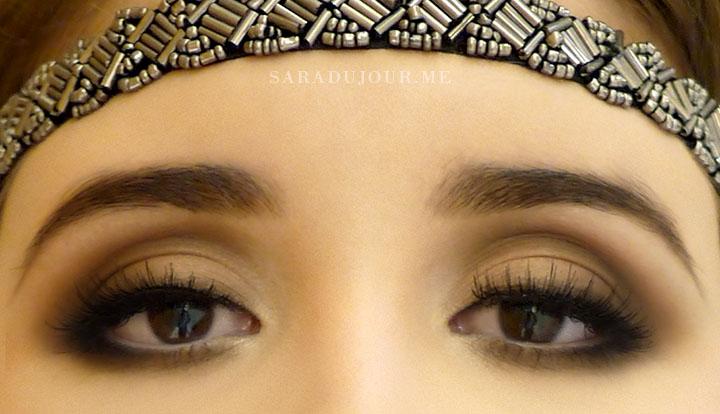 1920s eye makeup