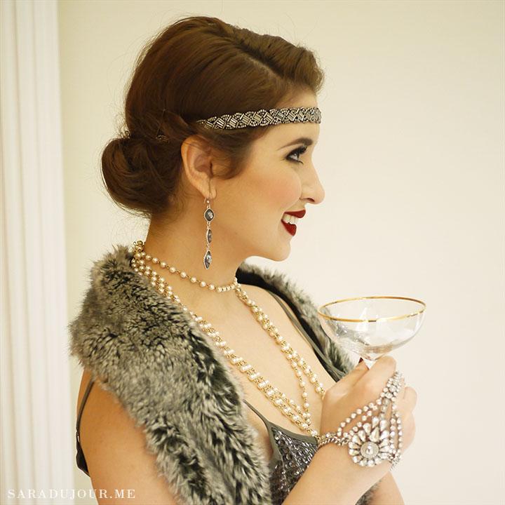 A 1920s Gatsby Christmas Party Sara Du Jour