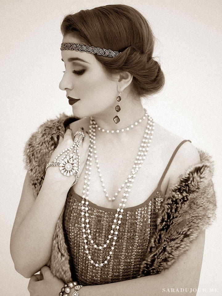 A 1920s Gatsby Christmas Party • Sara du Jour