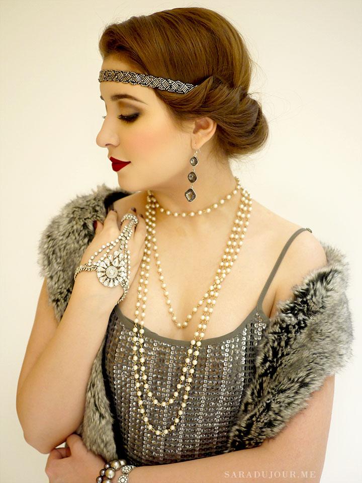 1920s Flapper Halloween Costume | Sara du Jour