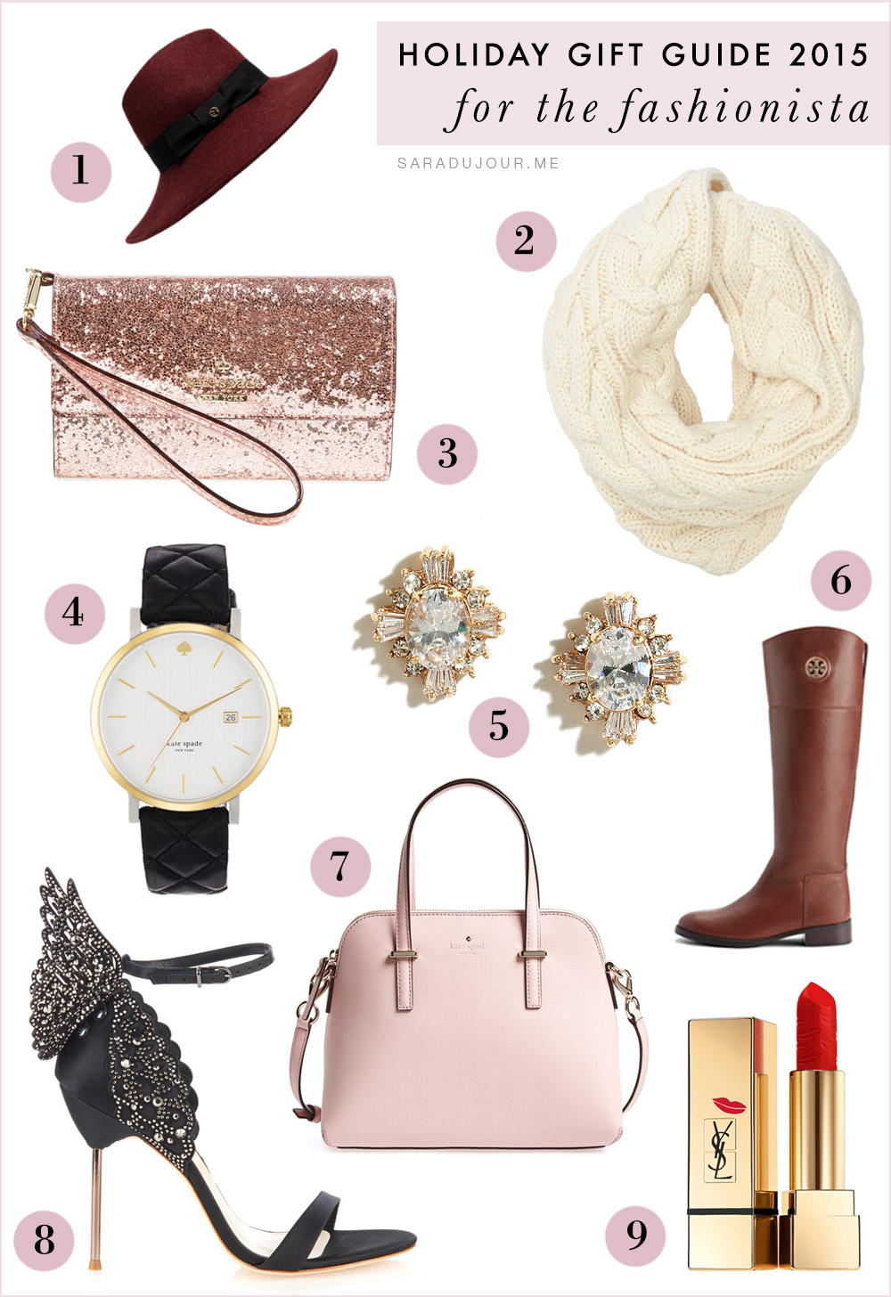 Holiday Gift Guide 2015: for the Fashionista | Sara du Jour
