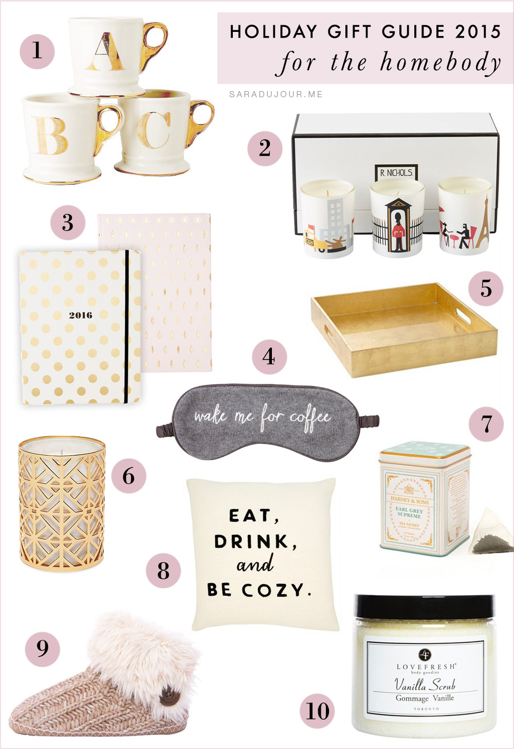 Holiday Gift Guide 2015: for the Homebody | Sara du Jour