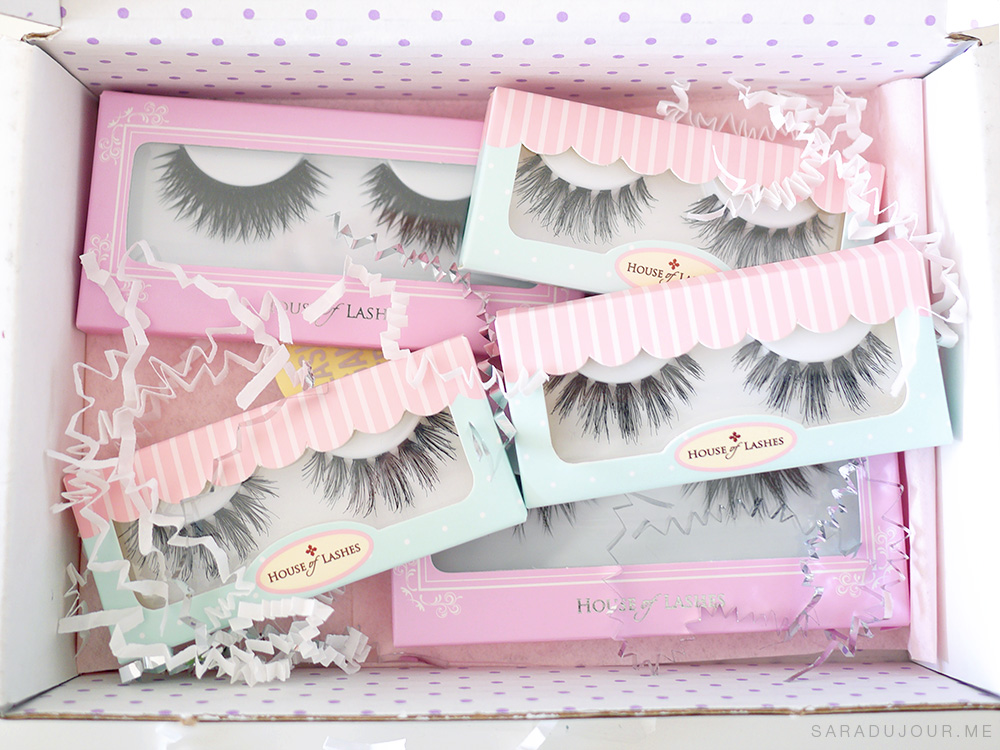 House of Lashes Haul | Sara du Jour