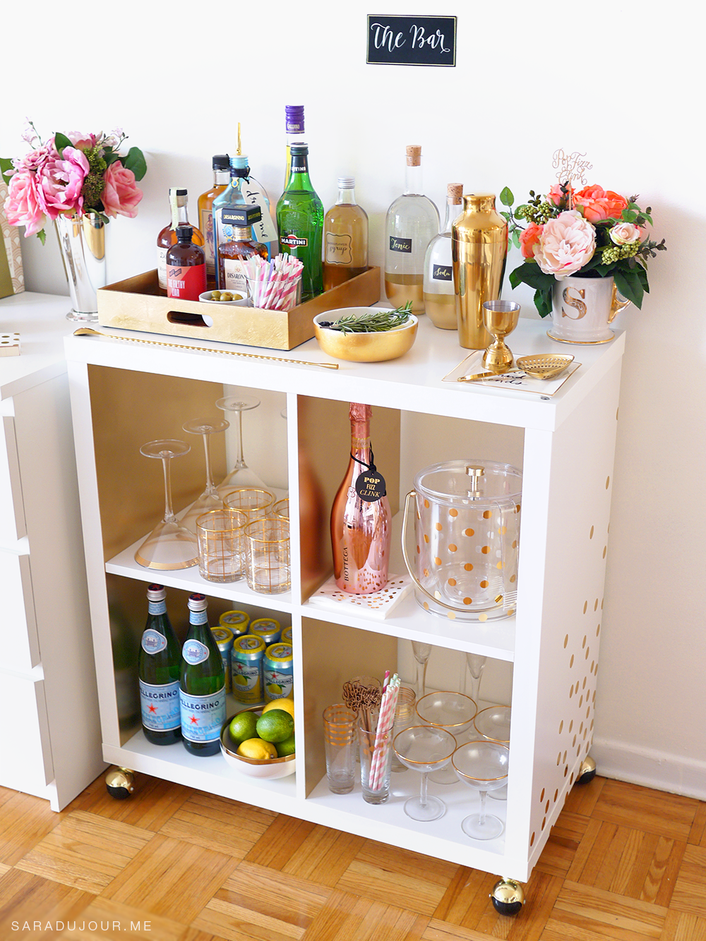 Bar Cart Essentials |Sara du Jour