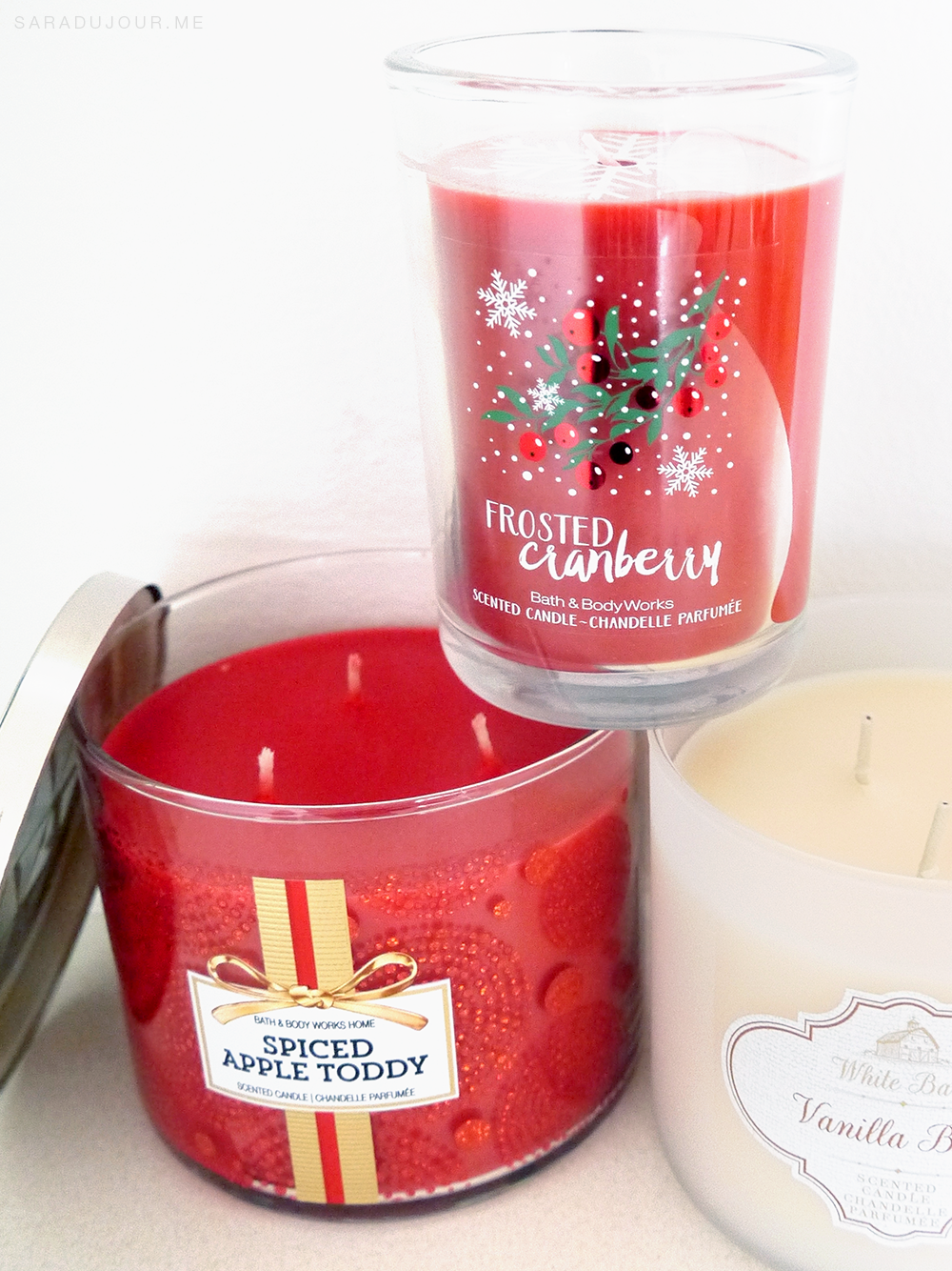 Bath and Body Works Holiday Candle Haul | Sara du Jour