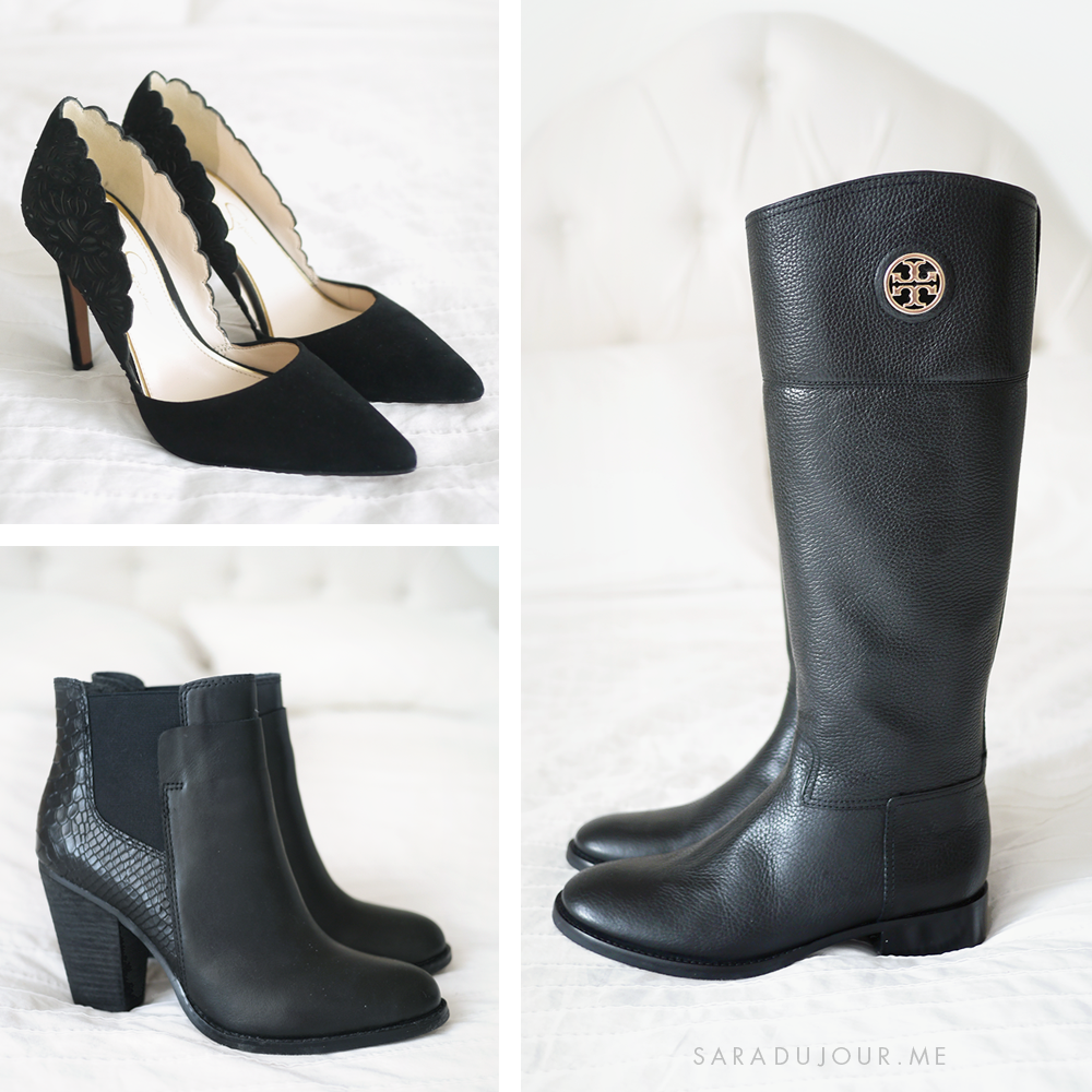 Boot and Shoe Haul – Tory Burch, Jessica Simpson, & Aldo | Sara du Jour