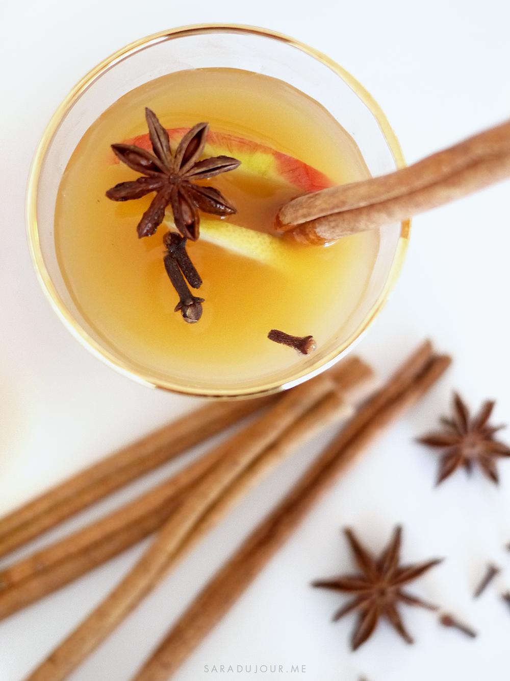 Spiced Rum Hot Apple Toddy Recipe   Sara du Jour