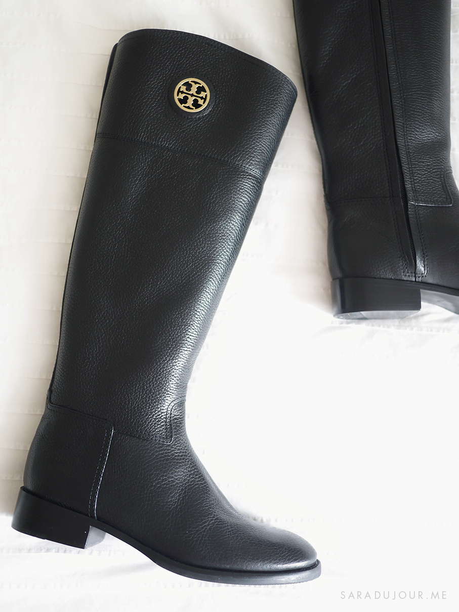 Tory Burch Junction Riding Boots - Boot and Shoe Haul |Sara du Jour