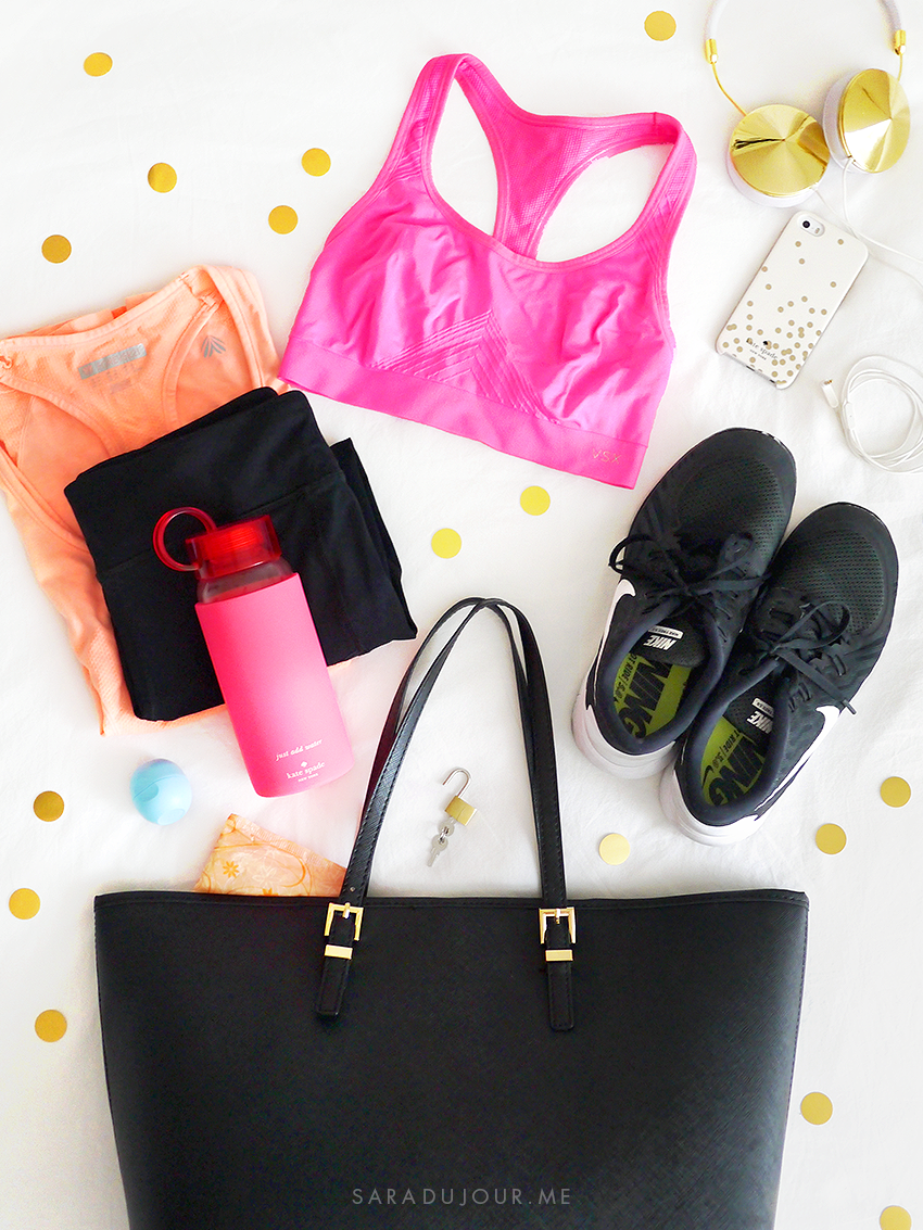 What's In My Gym Bag | Sara du Jour