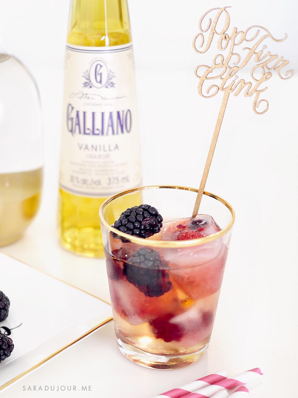 Cocktail Hour: Berry Cream Soda Recipe | Sara du Jour
