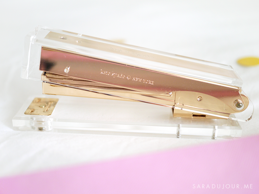 Kate Spade Stapler - Home & Stationary Haul | Sara du Jour