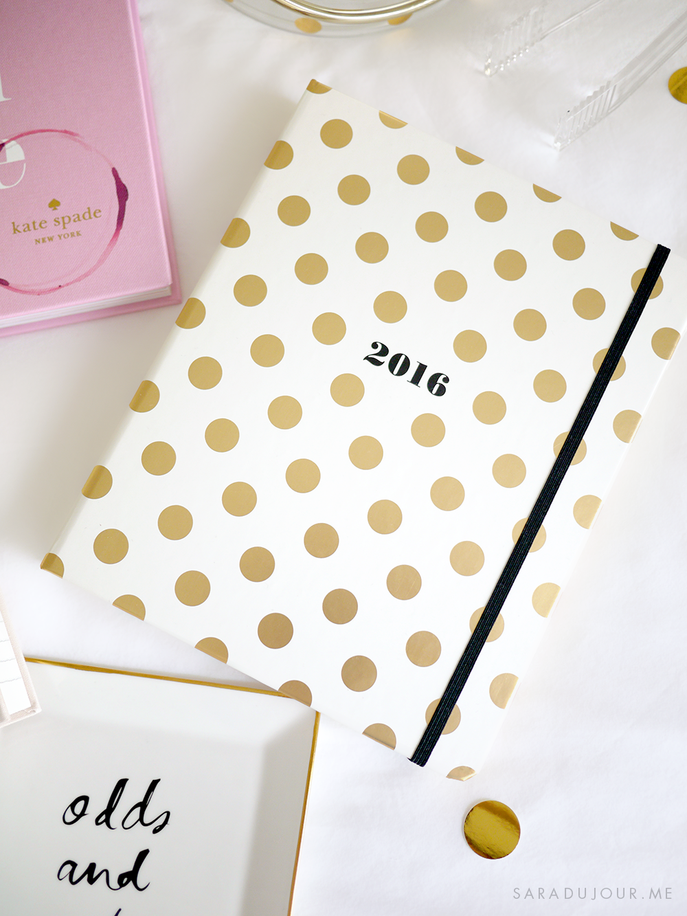 Kate Spade Home & Stationary Haul | Sara du Jour