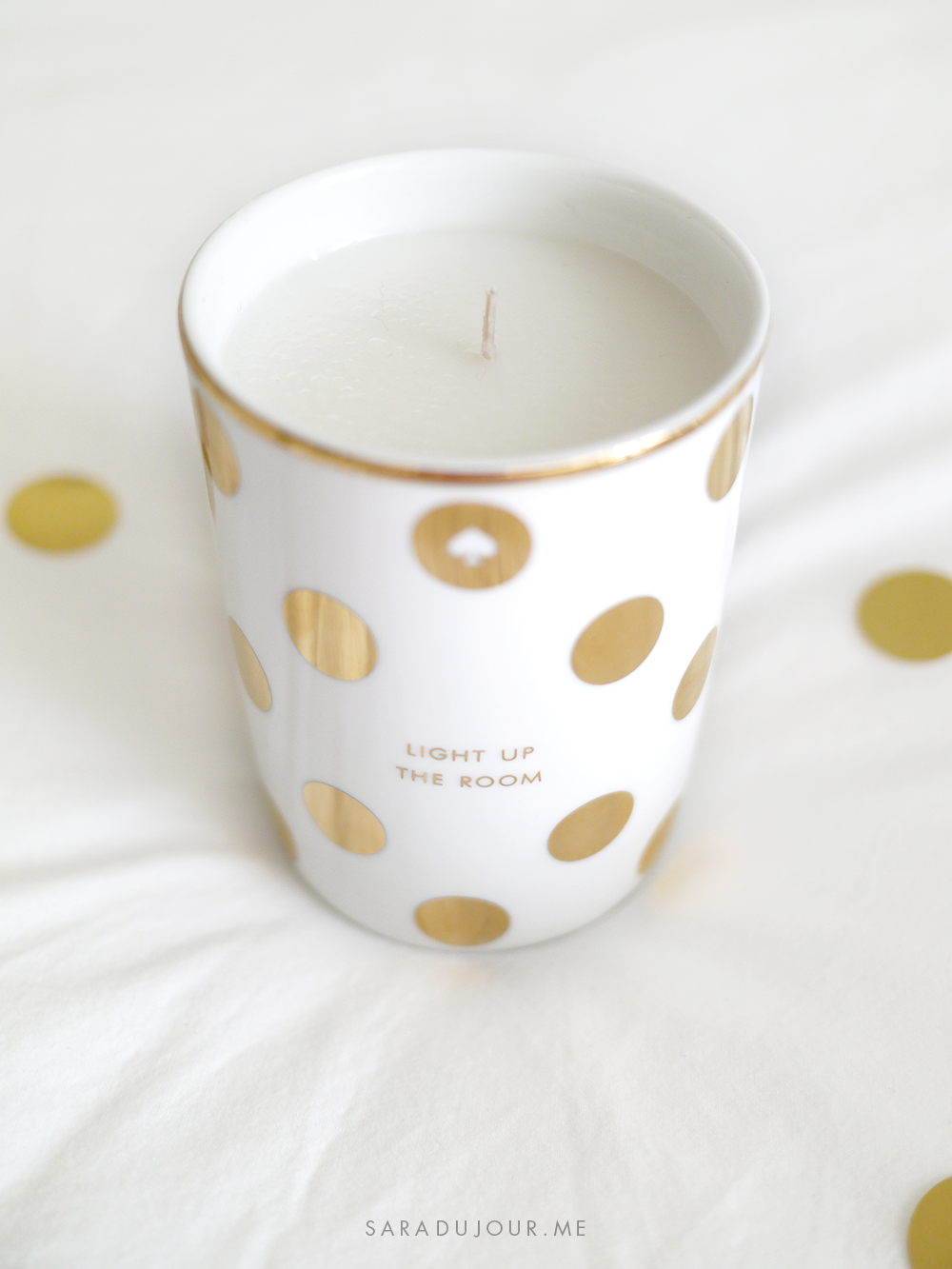 Kate Spade Candle - Home & Stationary Haul | Sara du Jour