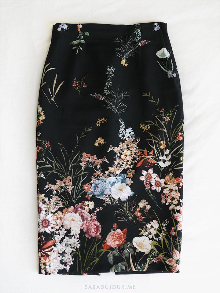 Floral Zara Skirt | Sara du Jour