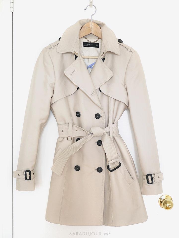 Zara Trench Coat | Sara du Jour