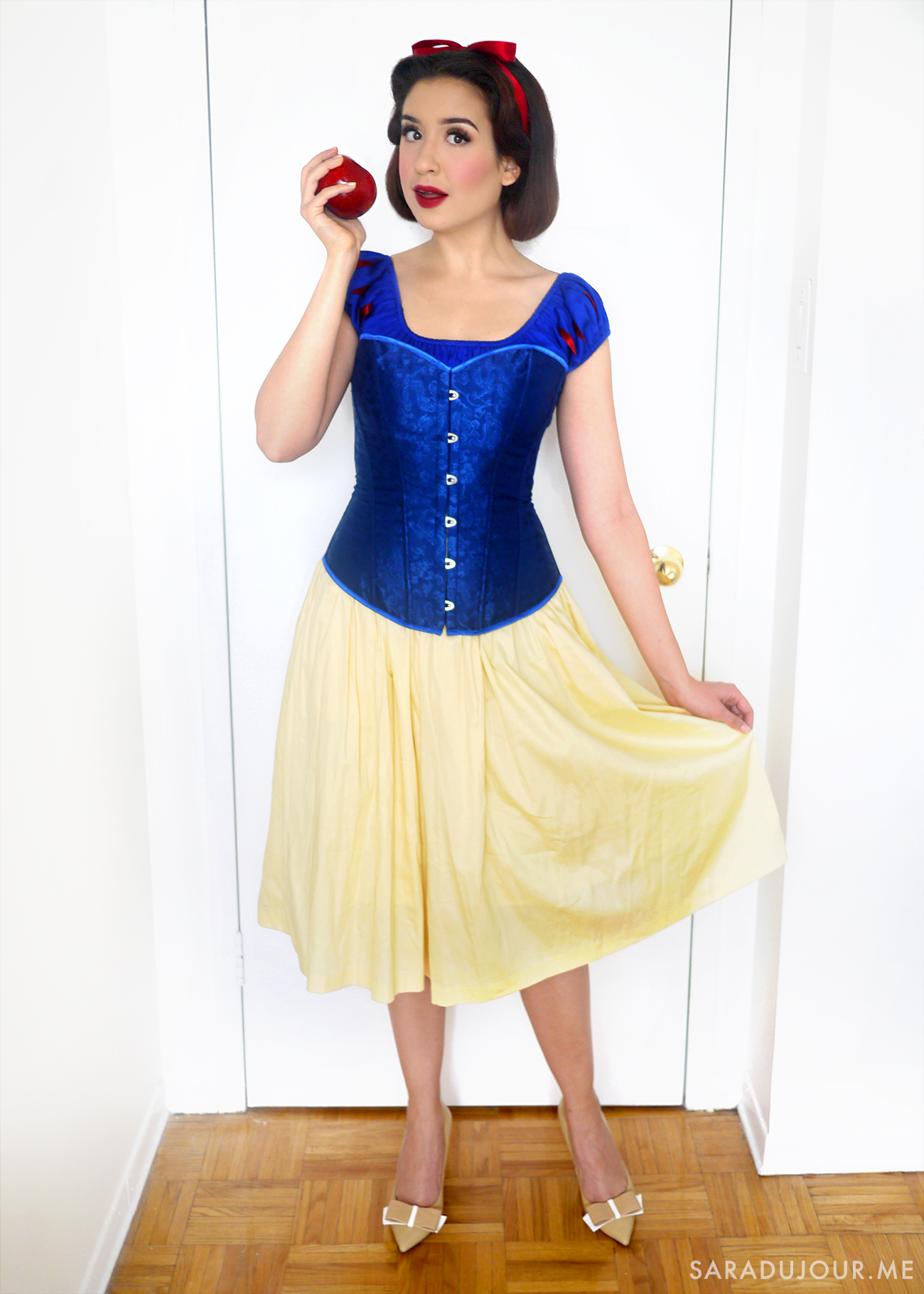 Snow White Halloween Costume  sc 1 st  Sara du Jour : all white halloween costumes  - Germanpascual.Com