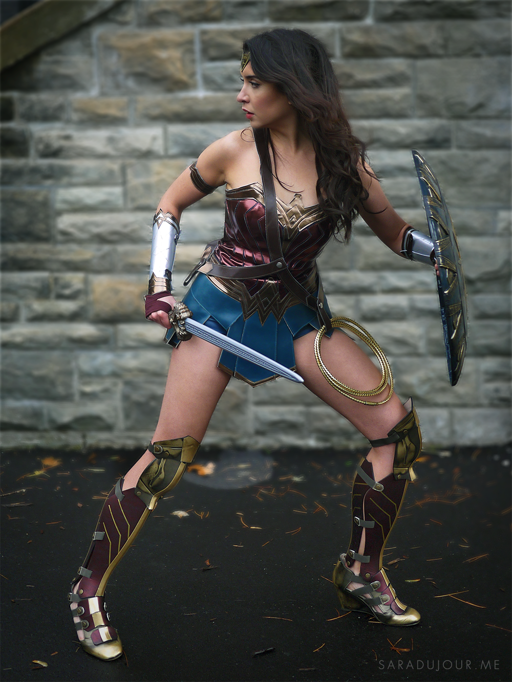 Wonder Woman Costume | Sara du Jour