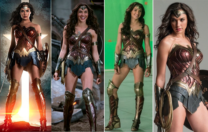 Wonder Woman Full Costume Reference Photos