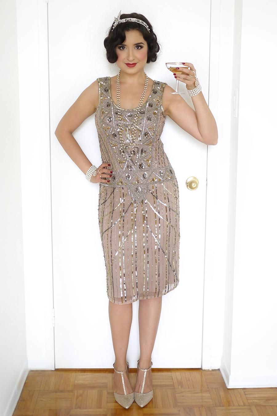 1920s Daisy Gatsby Flapper Costume | Sara du Jour