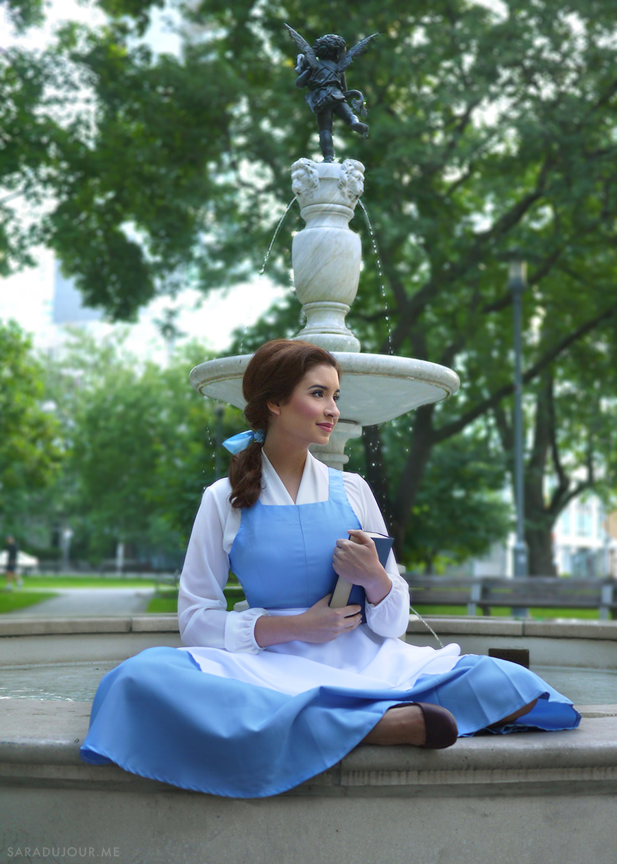 Belle Blue Dress Costume - Beauty and the Beast | Sara du Jour