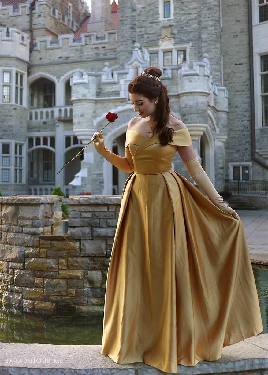 Belle Gold Dress Costume + Cosplay | Sara du Jour