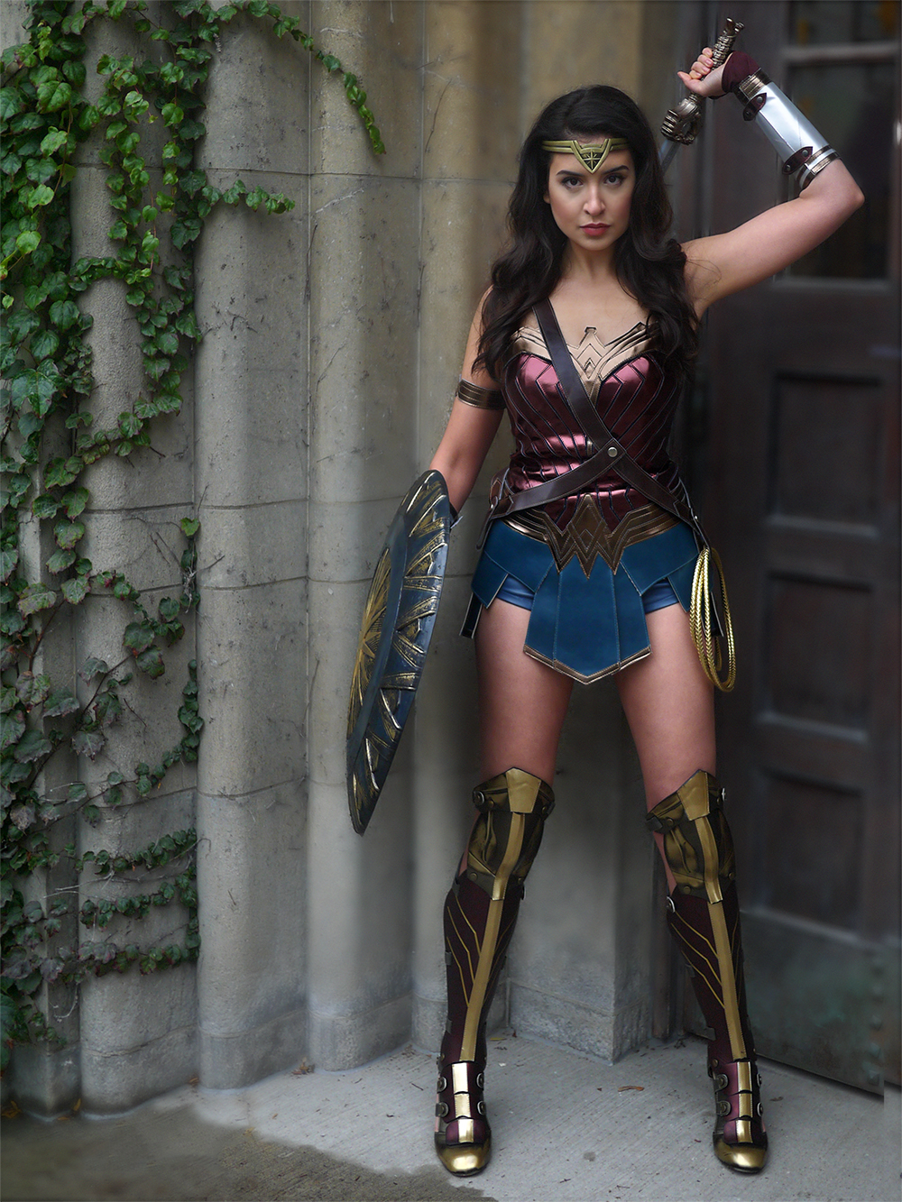 Wonder Woman Halloween Costume | Sara du Jour
