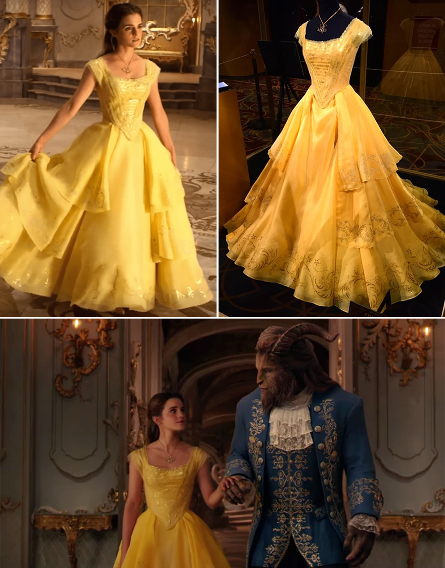 Emma Watson Belle Yellow Dress - Beauty and the Beast Live Action