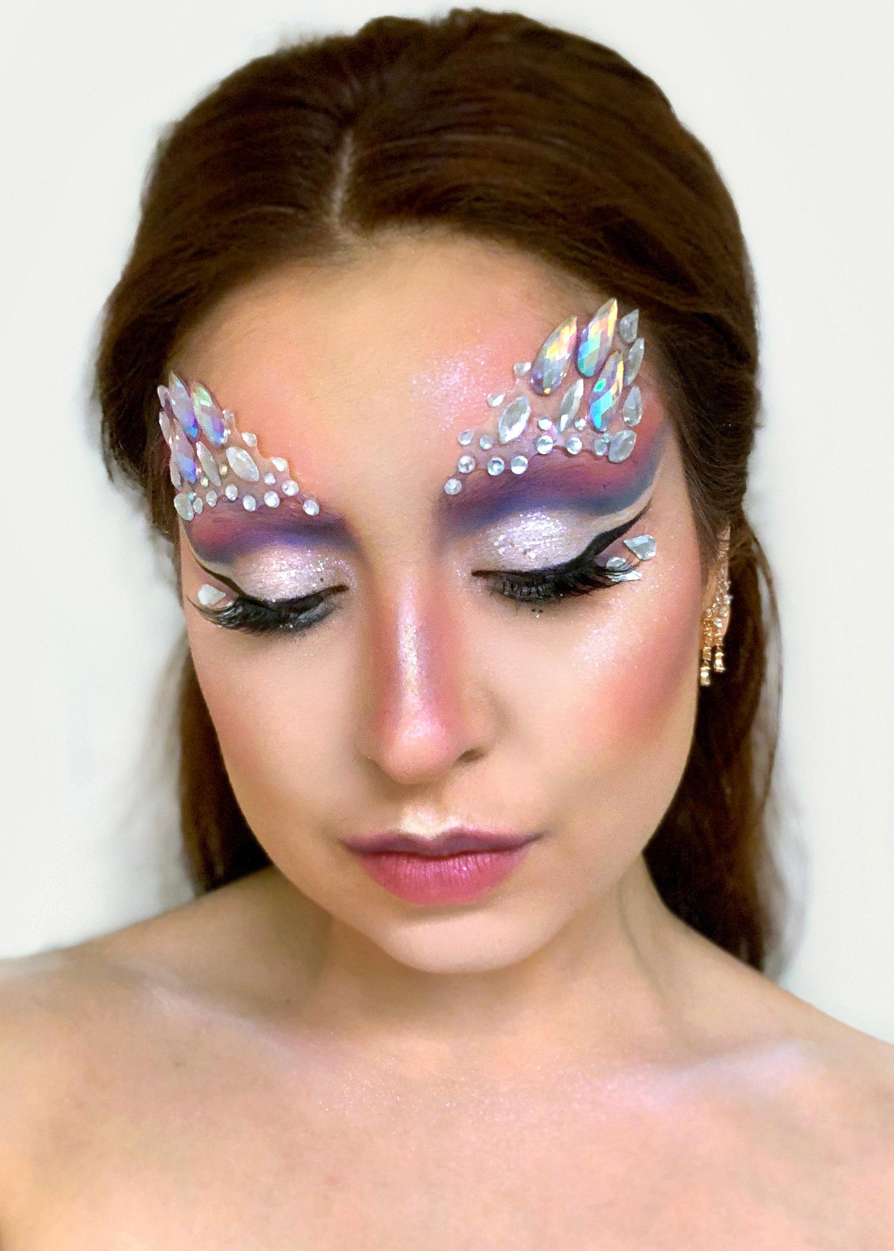 Iridescent Unicorn Drag Makeup | Sara du Jour