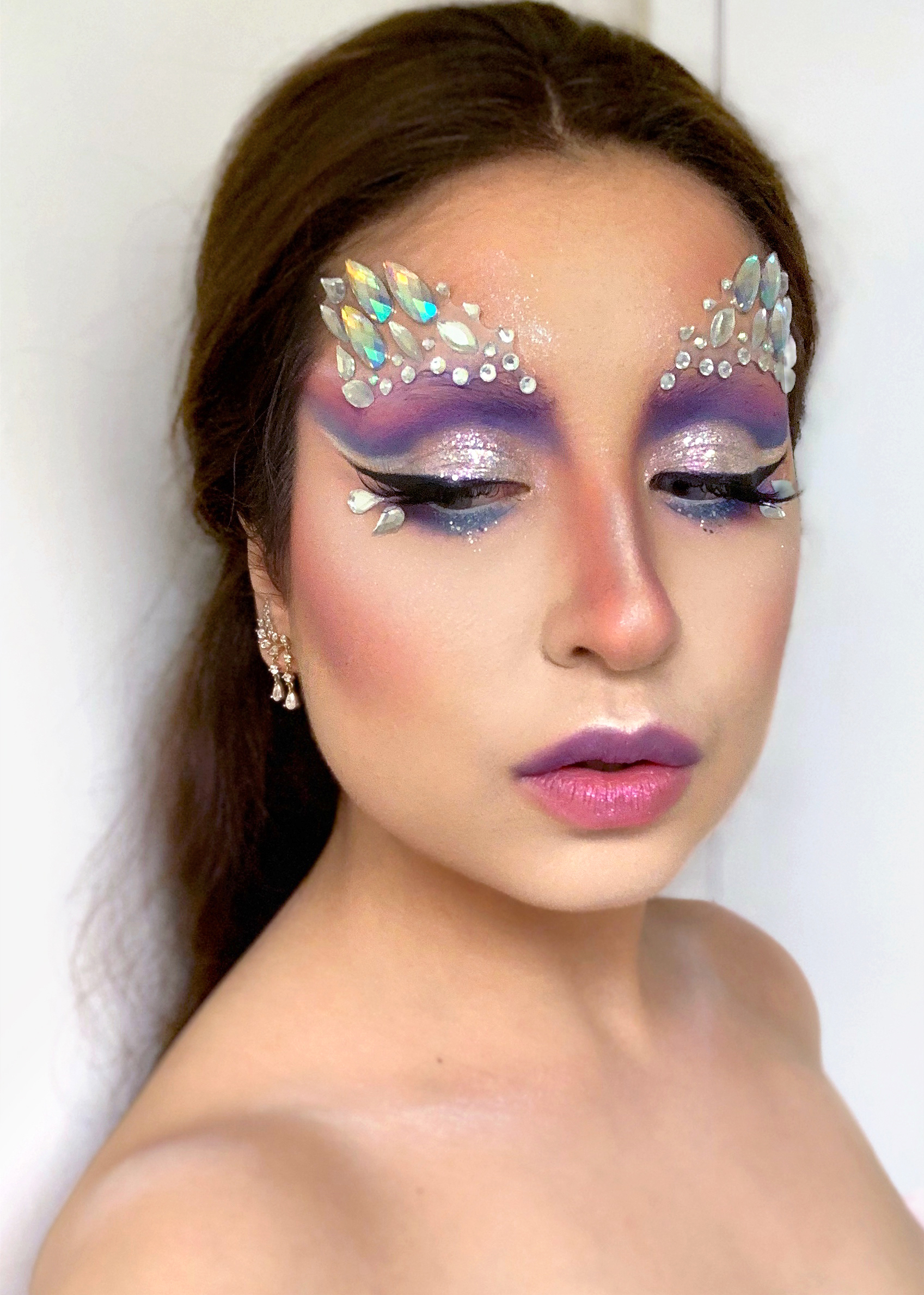 Iridescent Unicorn Drag Makeup | Sara du Jour