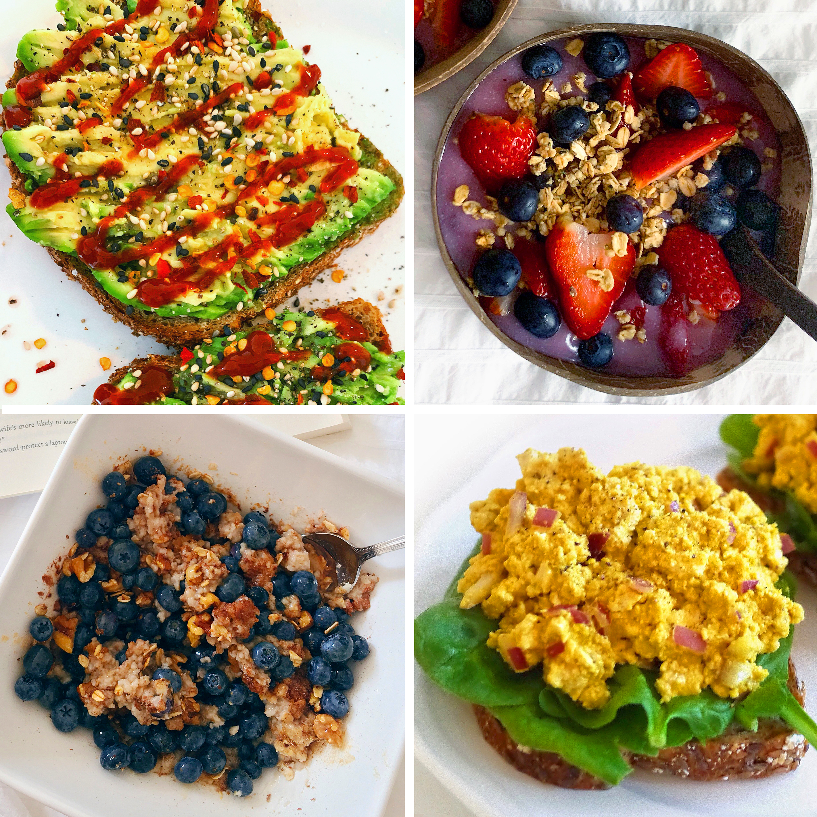 5 Healthy Vegan Breakfast Ideas | Sara du Jour
