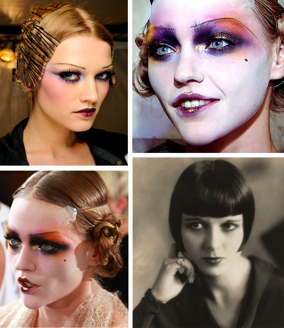 1920s Editorial Makeup | Sara du Jour