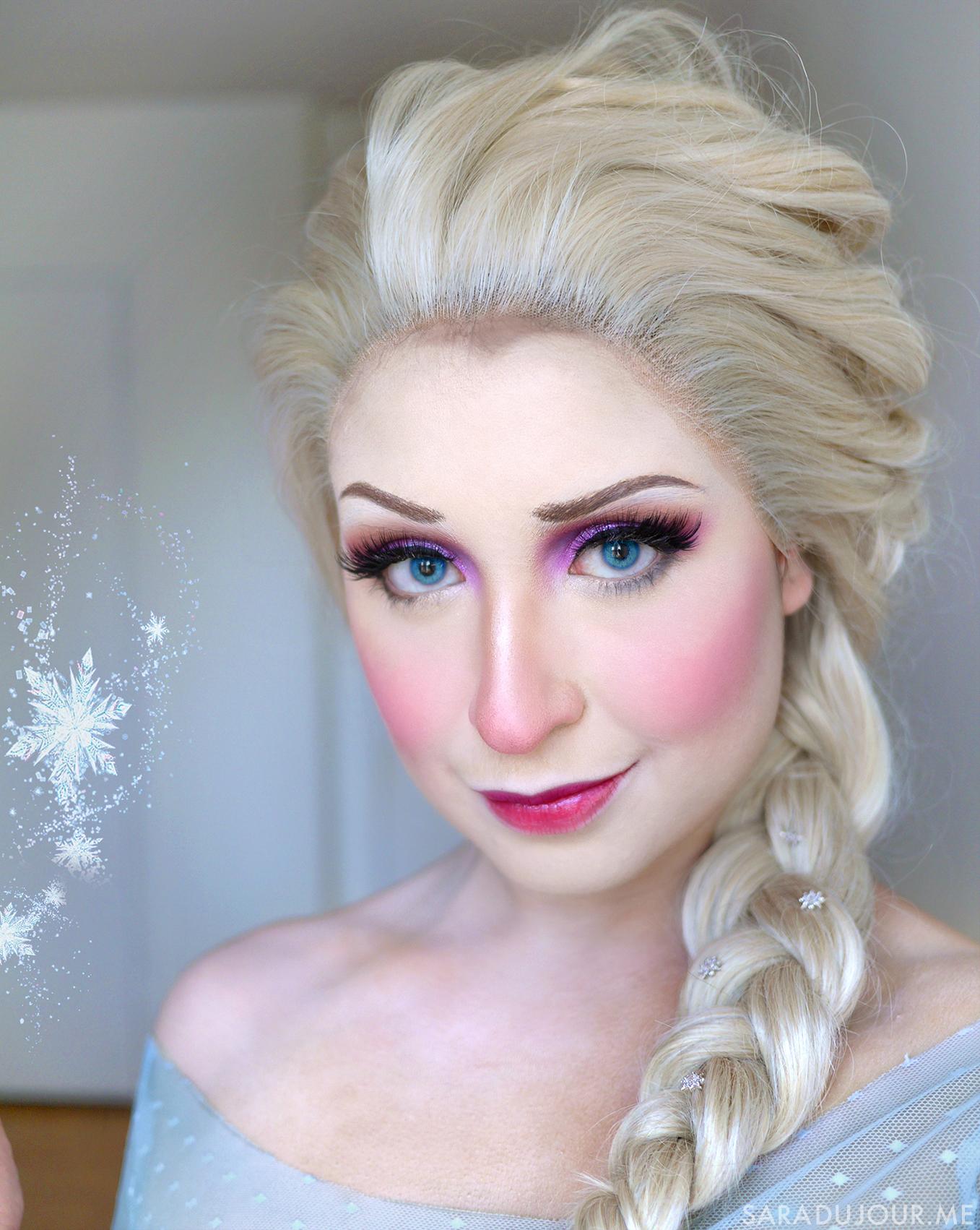 Elsa Frozen Cosplay + Makeup | Sara du Jour