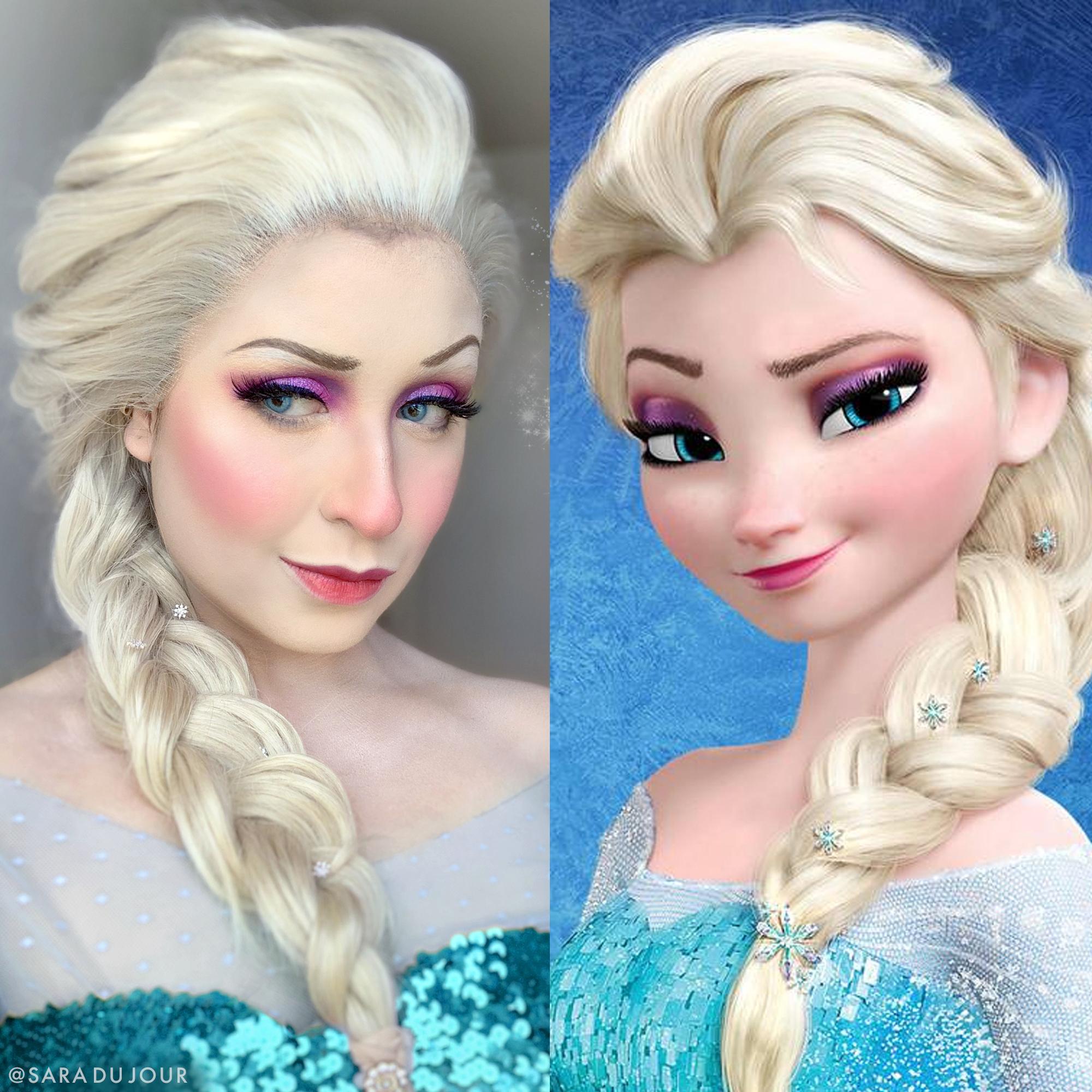 Elsa - Frozen Cosplay Side by Side | Sara du Jour