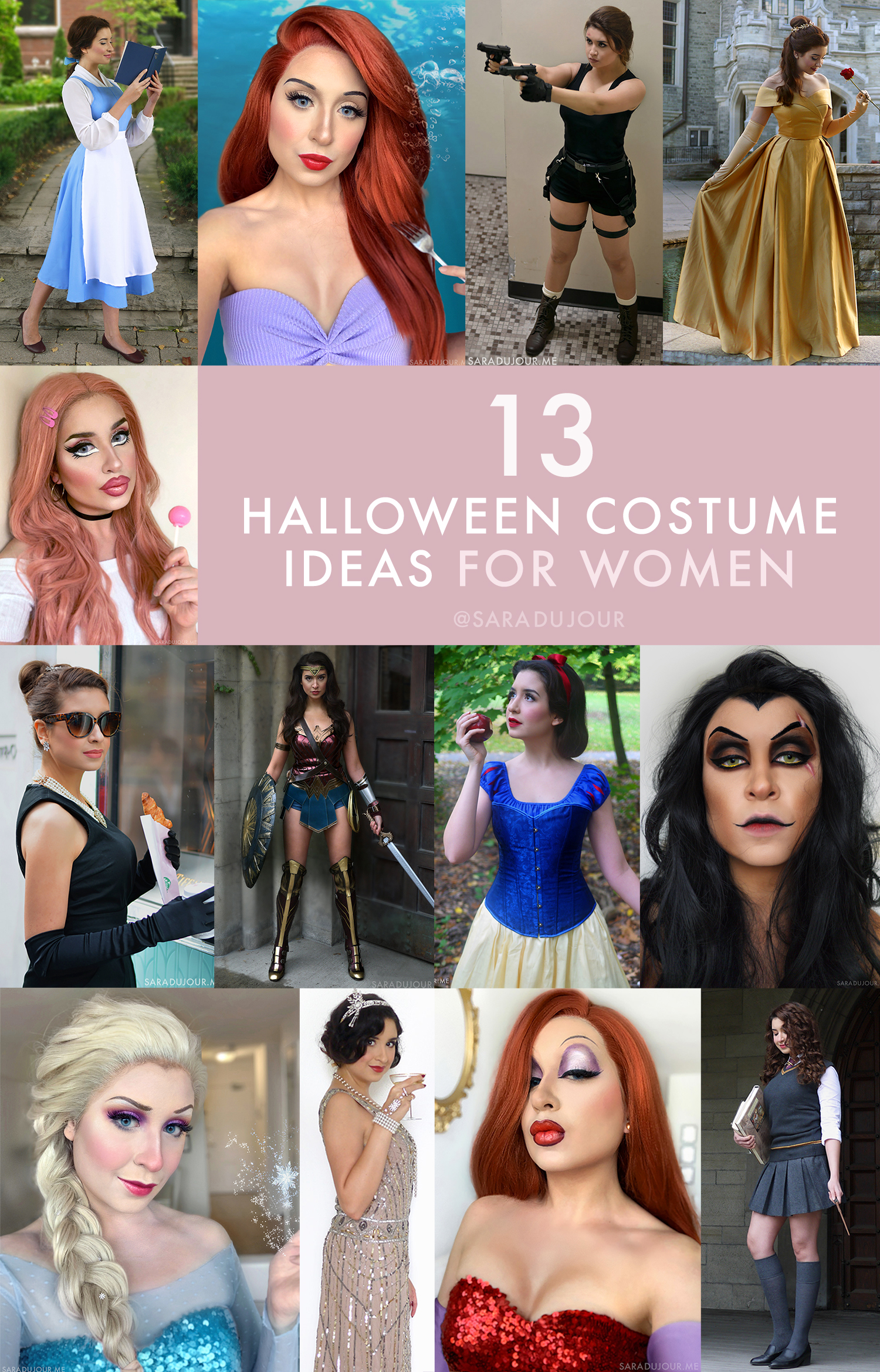 13 Halloween Costume Ideas for Women | Sara du Jour