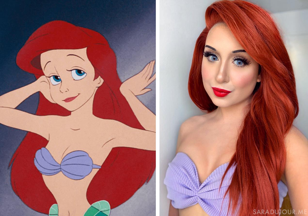 Ariel Halloween Costume + Cosplay | Sara du Jour