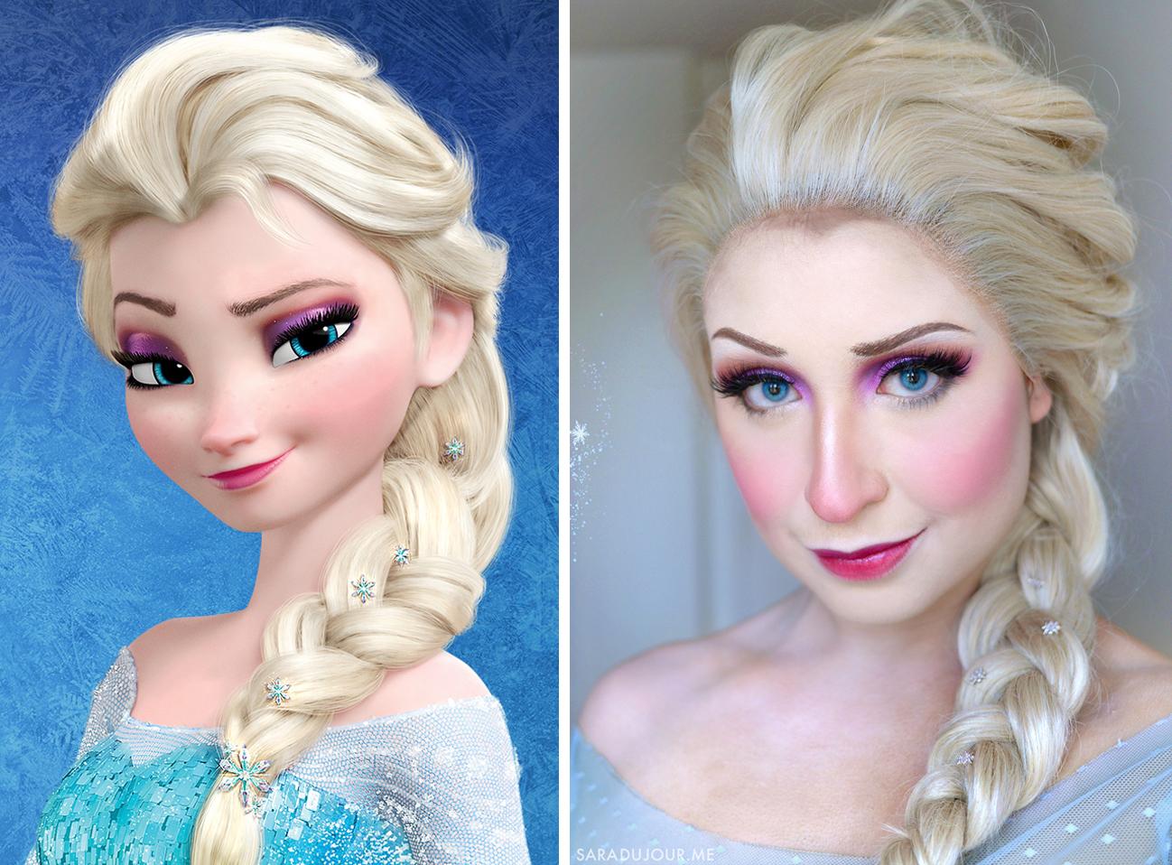 Elsa - Frozen Halloween Costume + Cosplay | Sara du Jour