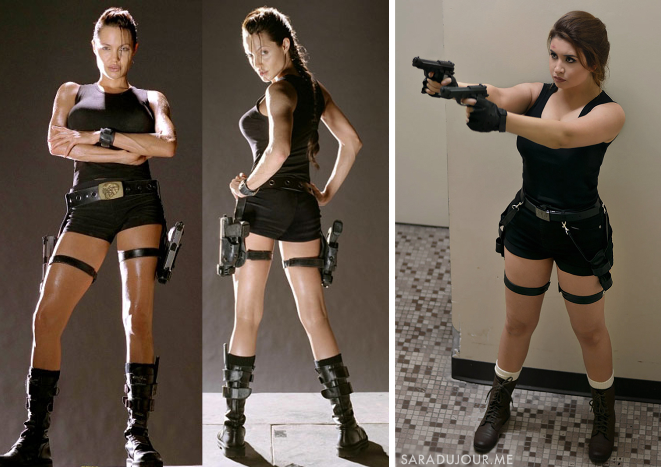 Lara Croft - Tomb Raider Halloween Costume + Cosplay | Sara du Jour