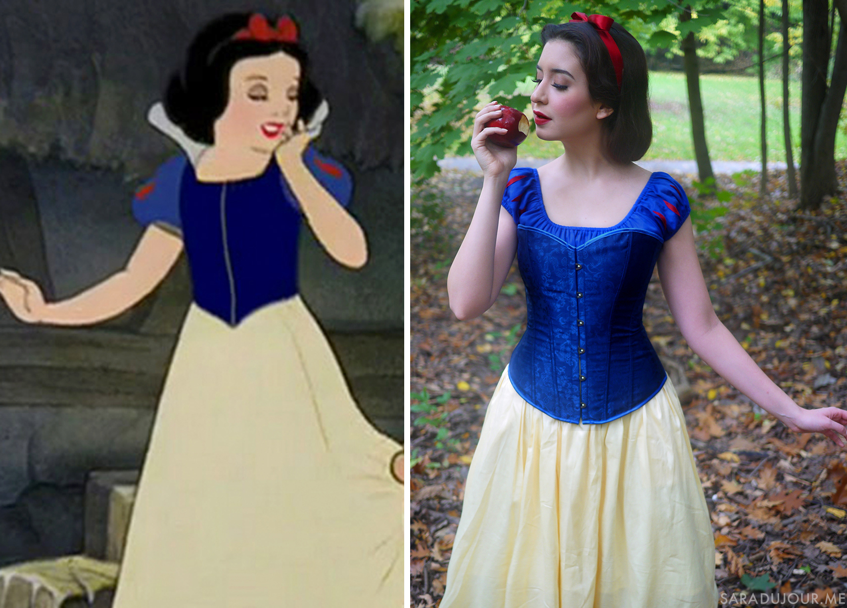 Snow White Halloween Costume + Cosplay | Sara du Jour