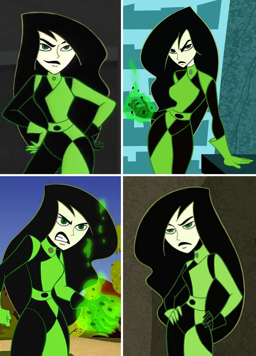 Shego Costume References - Kim Possible