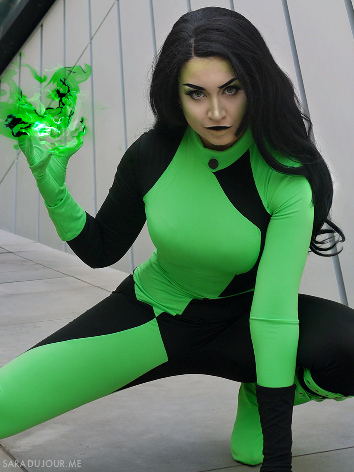 Shego Cosplay + Costume - Kim Possible | Sara du Jour
