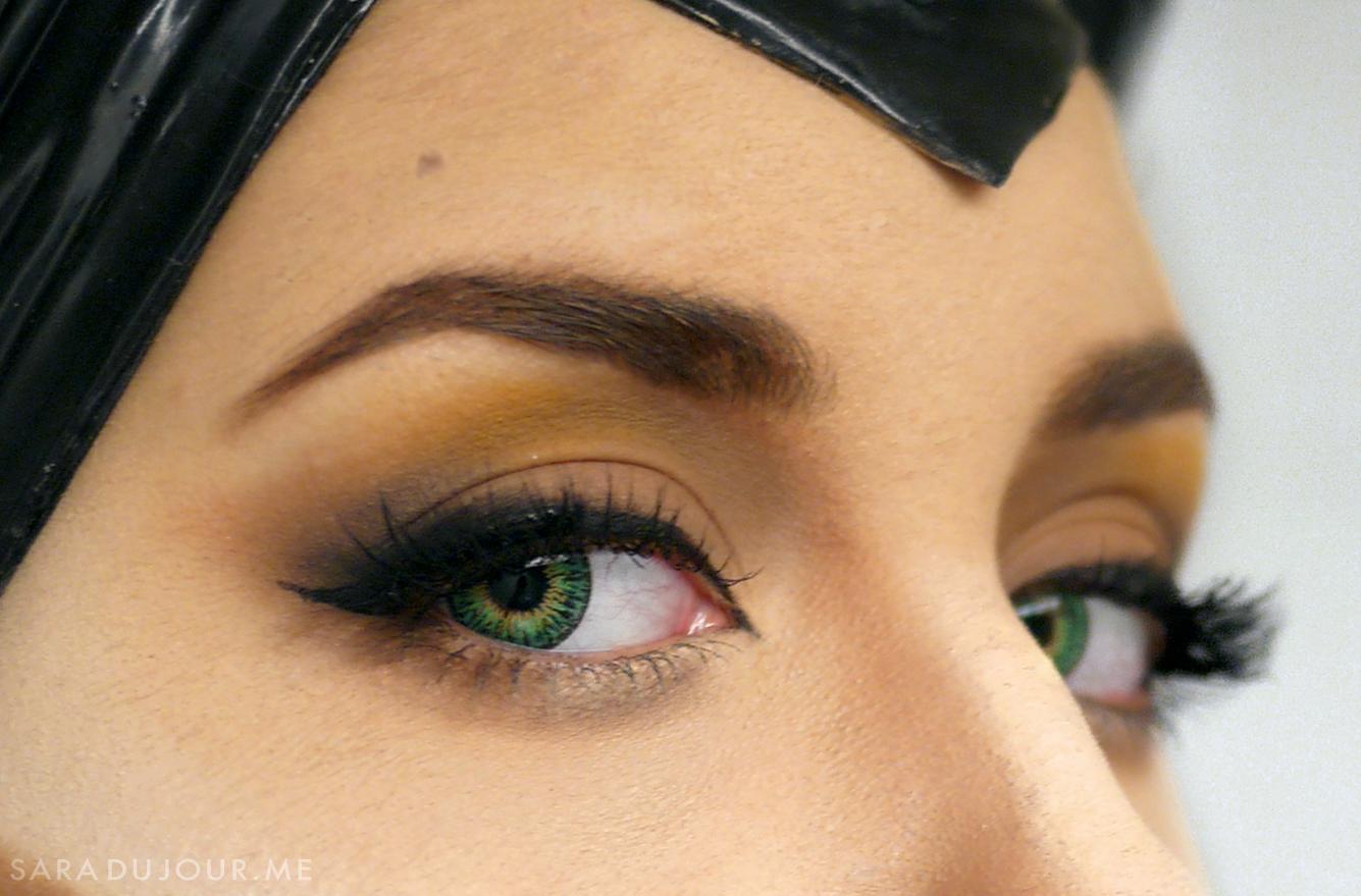 Maleficent Cosplay Makeup Tutorial | Sara du Jour