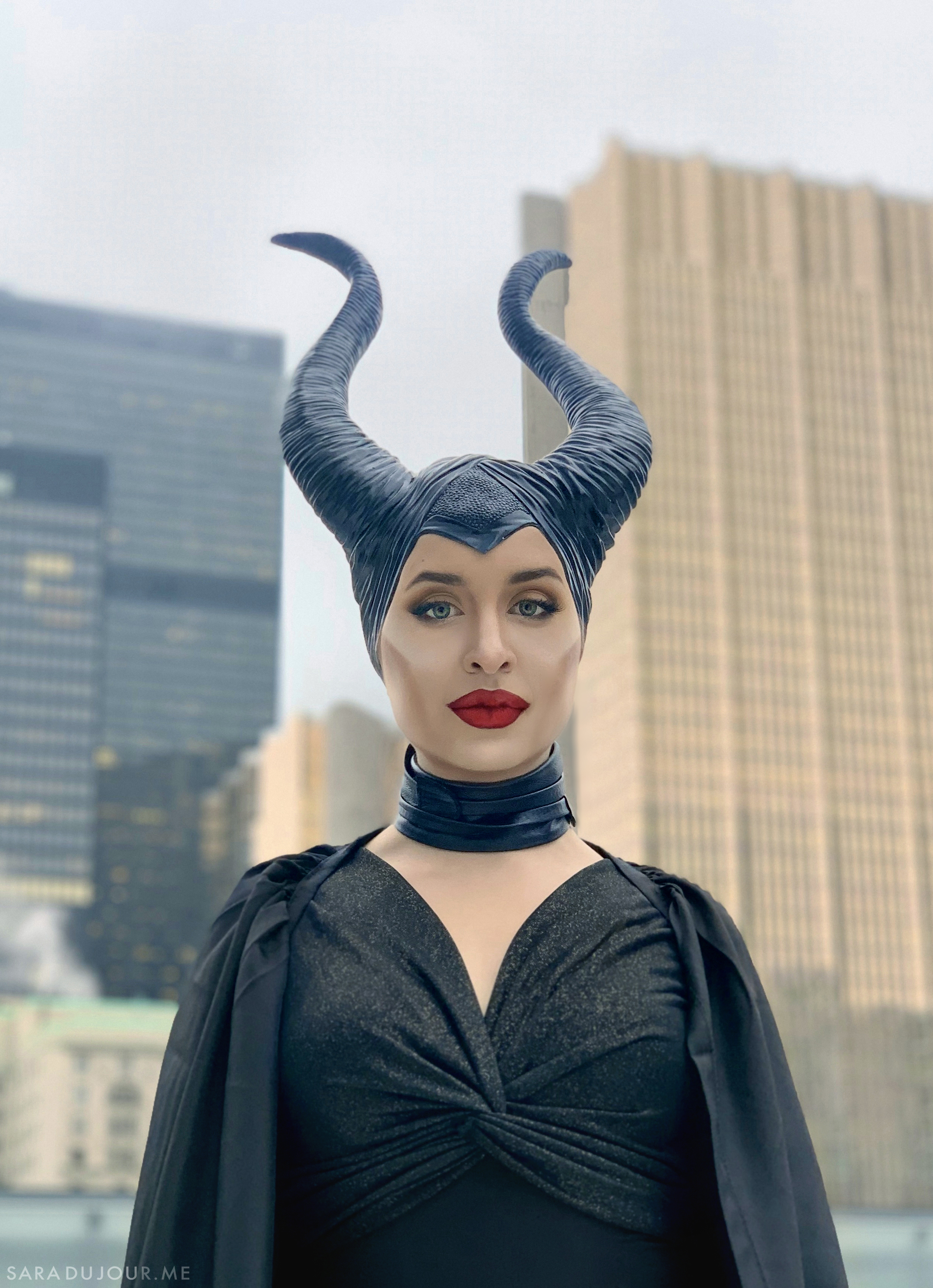 Maleficent Movie Cosplay Makeup Tutorial and Costume | Sara du Jour