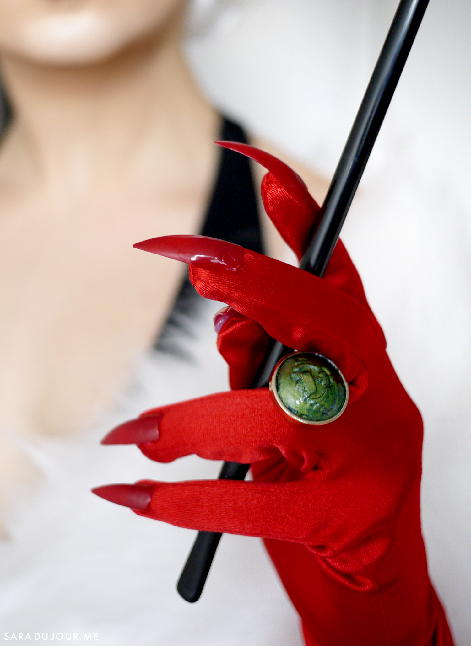 Cruella de Vil Cosplay Makeup Transformation | Sara du Jour