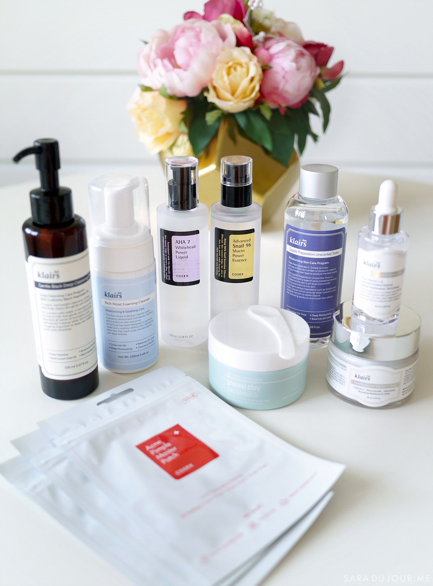 Korean Skincare Haul: Klairs, COSRX, and more | Sara du Jour